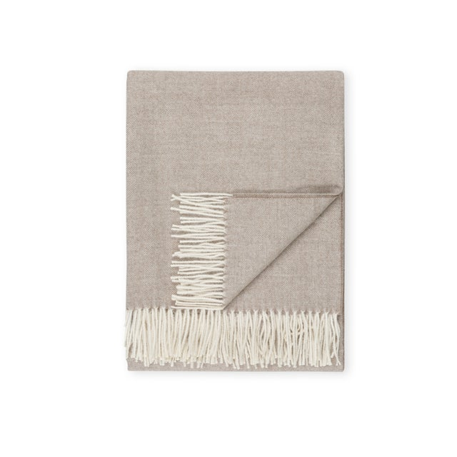 2010s 100% Baby Alpaca Madison Throw For Sale - Image 5 of 5