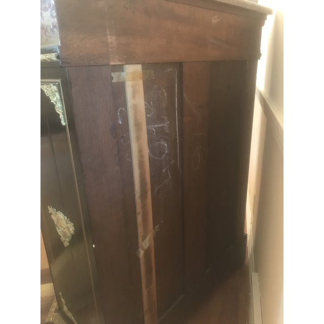 French Boulle Style Display Cabinet For Sale - Image 4 of 11