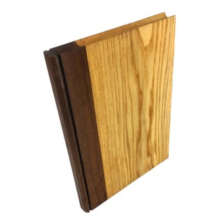 Solid Wood Book Art Carving For Sale