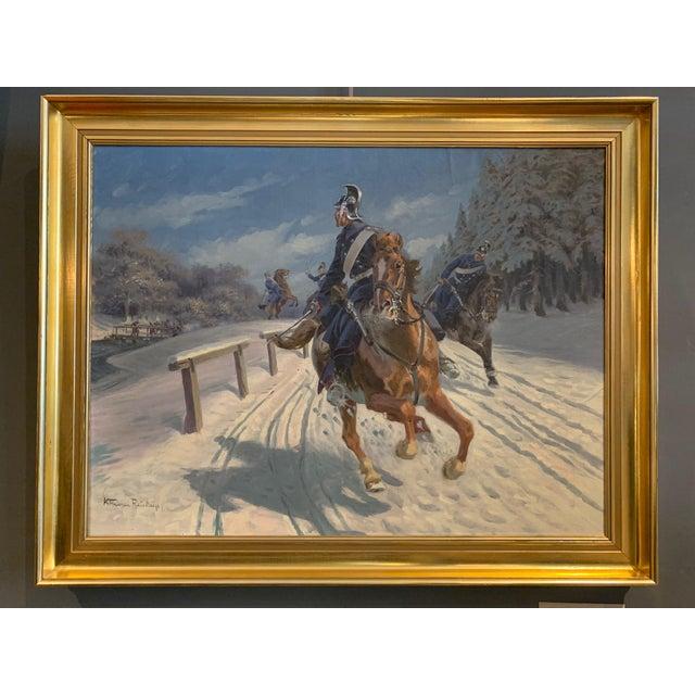 Karl Hansen Reistrup (1863-1929) Danish Dragoons For Sale - Image 12 of 12