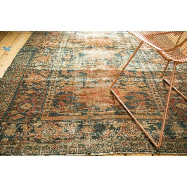 "Distressed Hamadan Carpet - 5'3"" x 7'11"" - Image 3 of 10"