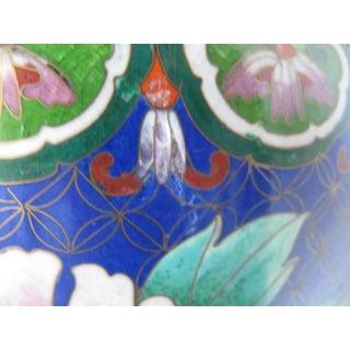 Pair of Antique Chinese Decorative Cloisonné Enamel Vases- 2 Pieces Preview