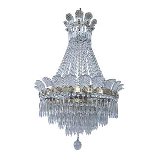 Antique French Empire Style Chandelier For Sale