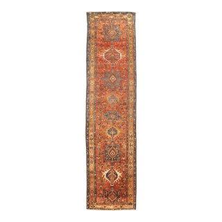 Persian Karajeh Design Runner For Sale