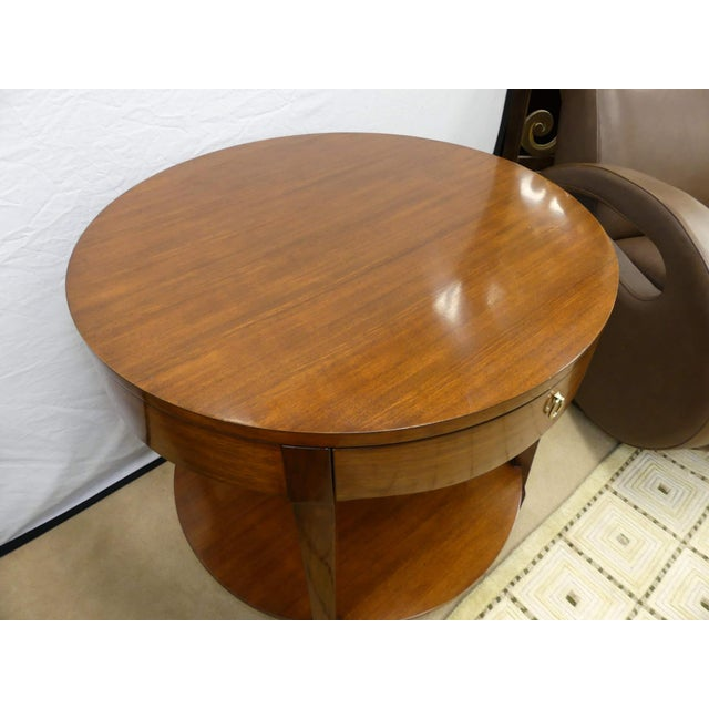 2000 - 2009 Barbara Barry Skirted Accent or End Table For Sale - Image 5 of 9