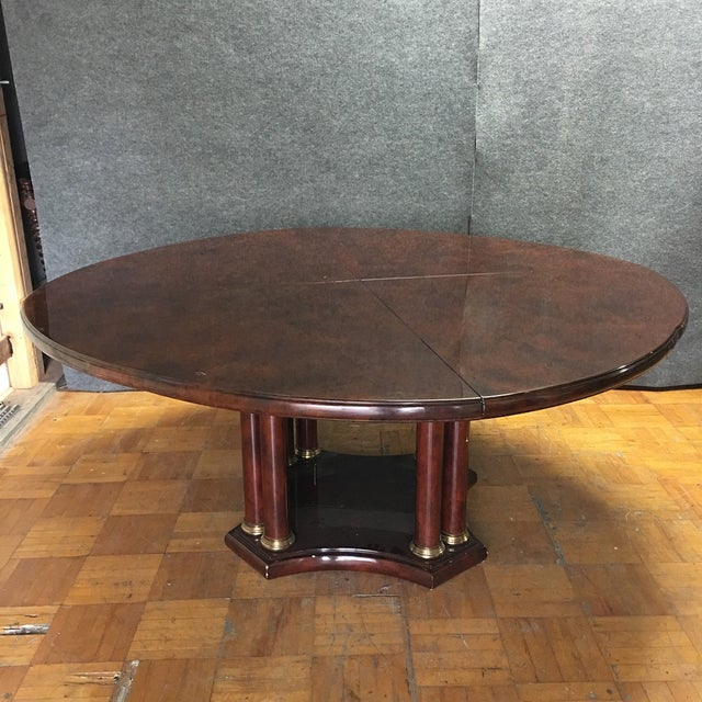 Expandable Circular Dining Table - Image 3 of 10