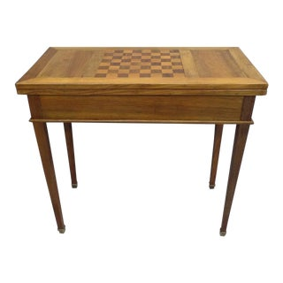 French Modern Neoclassical Louis XVI Style Game Table or Writing Desk, 1940