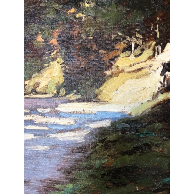 21st Century Landscape by Famous British Painter James Hart Dyke For Sale - Image 12 of 13