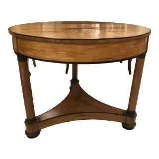 Biedermeier Center Table For Sale