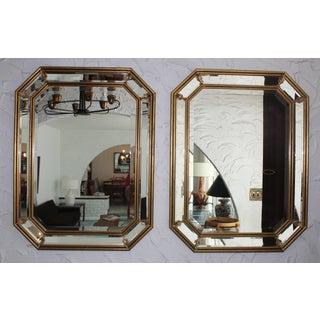 1950s Italian Gilt Octagonal Mirrors Preview