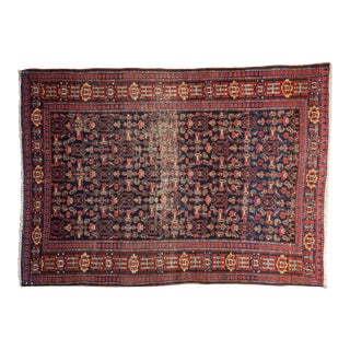 "Vintage Senneh Rug - 3'5"" X 4'10"" For Sale"