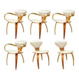 Norman Cherner for Plycraft Mid-Century Modern Dining Room Chairs - Set of 6 For Sale