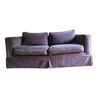 Parsons Style Sofa For Sale