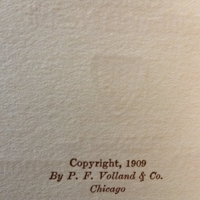 """1909 First Edition """"The Loving Cup"""" Original Toasts by Original Folks by Wilbur Nesbi - Image 6 of 11"""