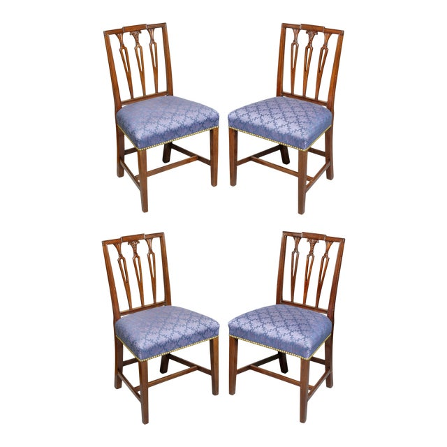 Federal Mahogany Side Chairs - Set of 4 For Sale