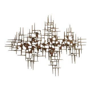 Max Levine Wall Sculpture, 1981 For Sale