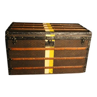 1920s Extra Large Goyard Steamer Trunk For Sale