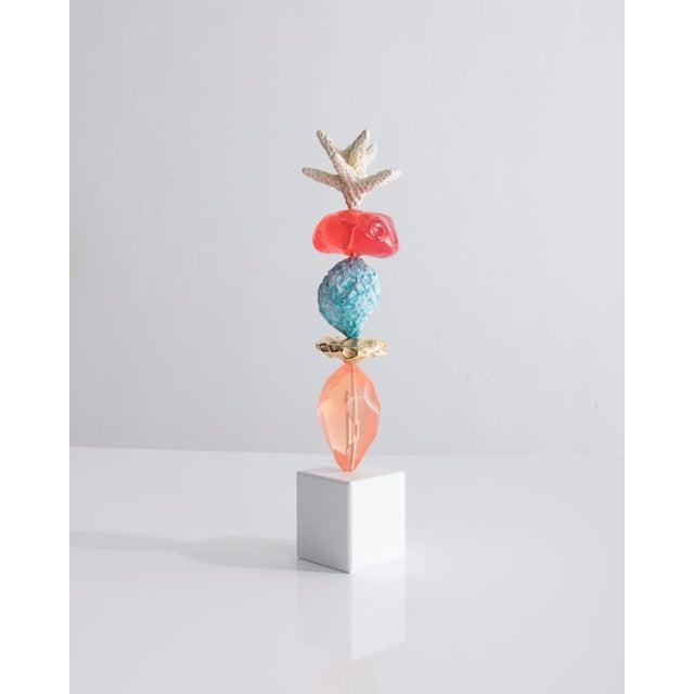"Ashley Hicks ""Danielle"" Totem Sculpture For Sale - Image 4 of 4"