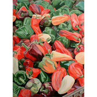 Complimentary Peppers - Giclee Print of the Painting For Sale