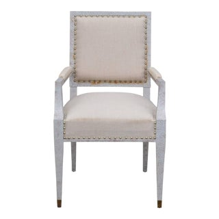 1940s Vintage Andre Arbus Inspired Chic French Armchair For Sale