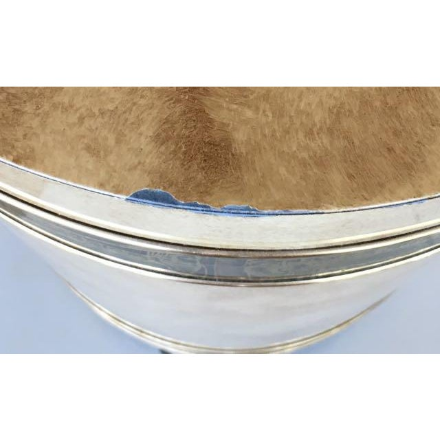 1970s Mid-Century Modern Mastercraft Bernard Rohe Decorated Drum Table For Sale - Image 9 of 13