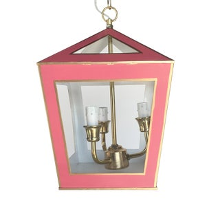 Dana Gibson Solid Pink Tucker Lantern For Sale