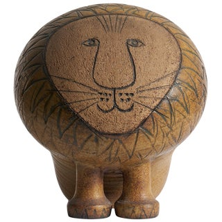 Large Lisa Larson Lion For Sale