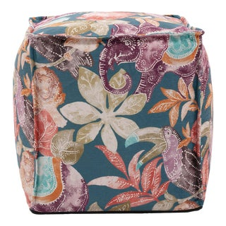 Tropical Paradise Pouf For Sale