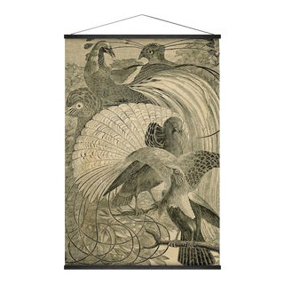 Birds of Paradise Wall Hanging For Sale