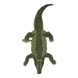 Doing Goods Coolio Crocodile Rug Large For Sale