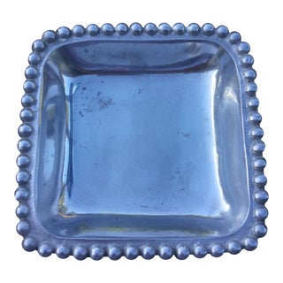 Mariposa Small Square Platter For Sale