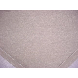 Traditional Clarke and Clarke Lucania Linen Beige Wool Blend Upholstery Fabric- 2-3/8y For Sale