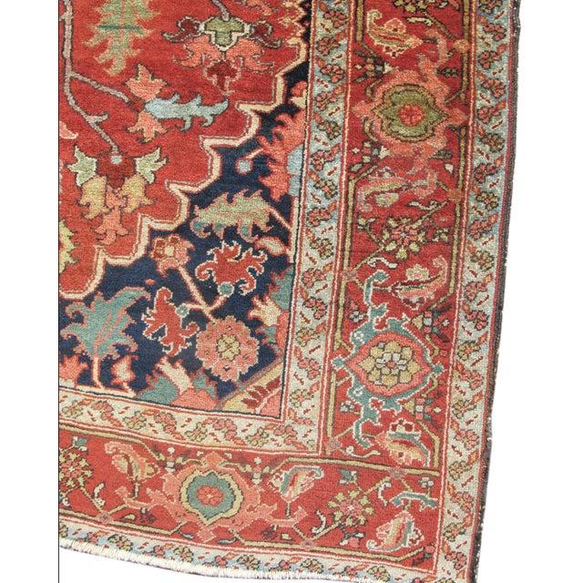 Beautiful Small Heriz Carpet - Image 1 of 3