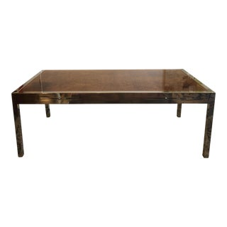 Leon Rosen for Pace Collection Olive Burlwood Desk