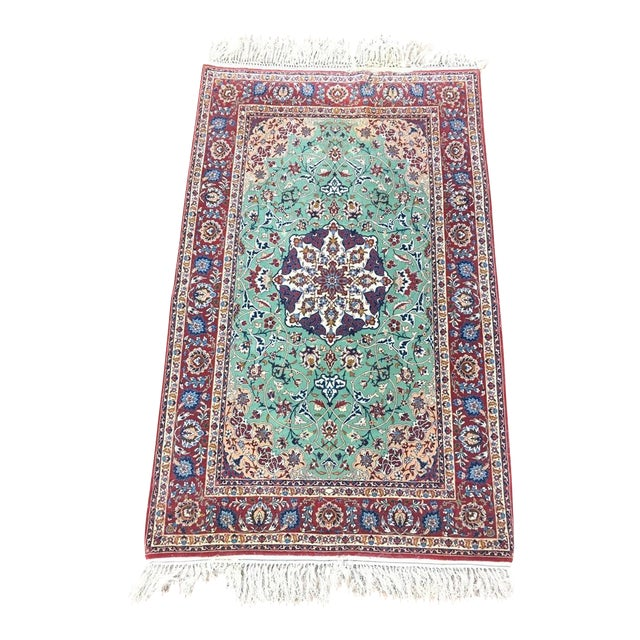 Contemporary Kashan Style Rug - 3′2″ × 5′8″ - Image 1 of 4