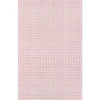 "Madcap Cottage Lisbon Sintra Pink Area Rug 7'6"" X 9'6"" For Sale"