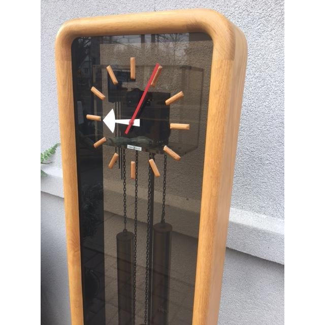 Howard Miller Modern Grandfather Clock For Sale In New York - Image 6 of 7