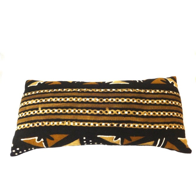 Mud Cloth Long Pillow - Image 3 of 9