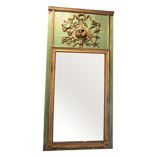 Louis XVI Trumeau Mirror For Sale