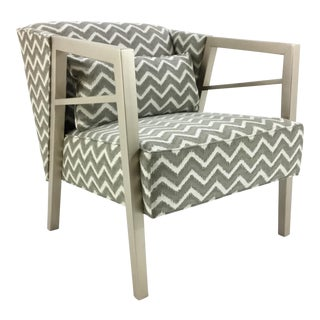 Gray and White Thomasville Walden Chair For Sale