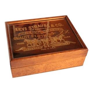 Levi Strauss & Co. Centennial Box For Sale