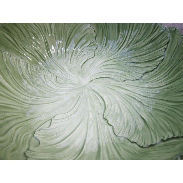 1960s Vintage Cabbage Serving Bowl For Sale - Image 4 of 8