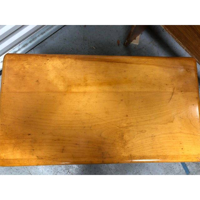 Heywood-Wakefield Ashcraft Side Table 111a For Sale In Orlando - Image 6 of 9