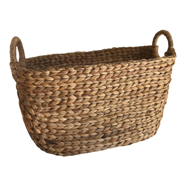 Boho Seagrass Rope Basket - Image 1 of 8