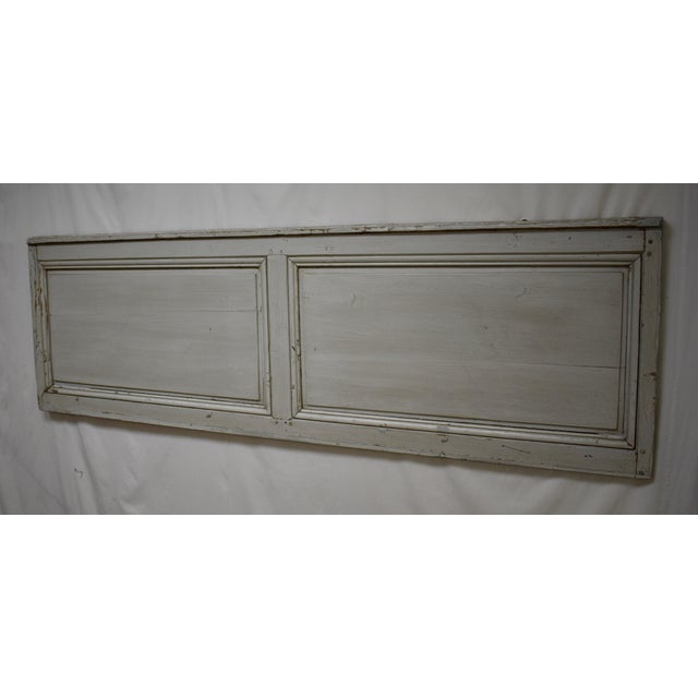 French 19th Century French Pine Queen Size Headboard For Sale - Image 3 of 8
