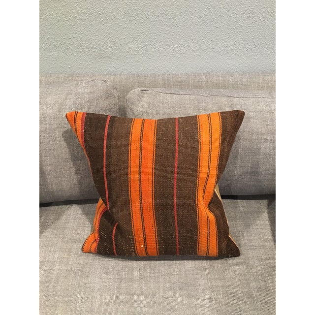 Turkish Kilim Pillow Covers - A Pair - Image 4 of 5