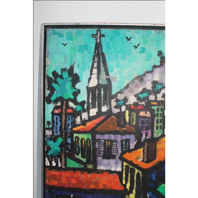 Cityscape Abstract Painting by Feomanol - Image 3 of 11