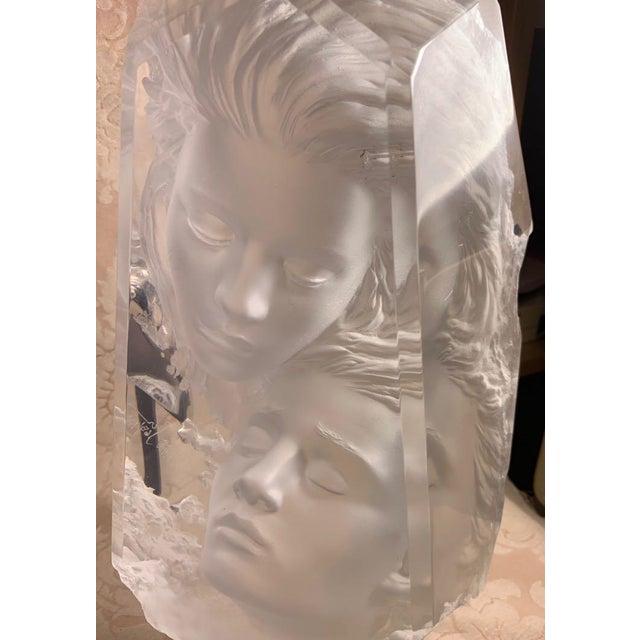 Transparent Michael Wilkinson Dream Cast Acrylic Fragment For Sale - Image 8 of 11