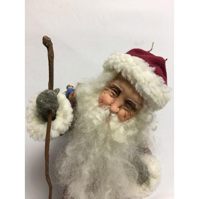 Sara Baker Hand Made Father Christmas - Image 3 of 10