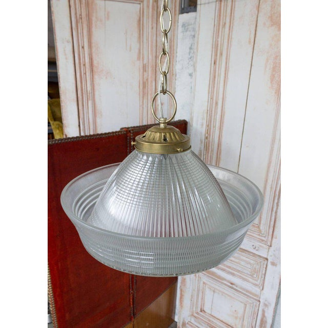 Vintage Hanging Glass Light, 20th Century - Image 3 of 11